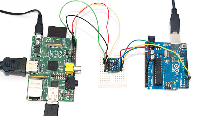 Arduino to Pi serial link